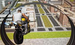 Flying Moto Racer 3d screenshot 5/5