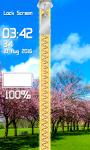 Zipper Lock Screen Blossom screenshot 4/6