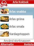 Arla Kokbok screenshot 1/1