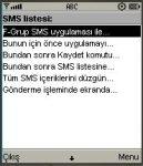 F-Grup SMS screenshot 1/1