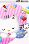 Hello Kitty Baby Cute Live Wallpapers screenshot 4/5