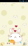 Cute Animals GO Launcher Bunny Cat Panda Bear screenshot 1/3