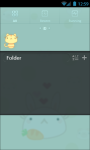 Cute Animals GO Launcher Bunny Cat Panda Bear screenshot 3/3