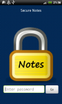 Secure Notes - Free screenshot 1/6