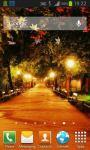Autumn Street Live Wallpaper screenshot 1/4