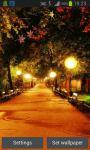 Autumn Street Live Wallpaper screenshot 2/4