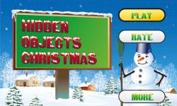 Hidden Objects Christmas Free screenshot 1/5