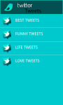 Latest Twitter Tweets screenshot 2/4