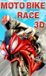 Moto Bike Race 3D - Free screenshot 1/5