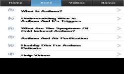 Asthma Info App screenshot 2/3