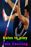 Rules to play Pole Vaulting  screenshot 1/3
