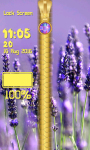 Lavender Zipper Lock Screen Best screenshot 5/6