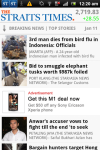 The Straits Times for Android Smartphones screenshot 2/3