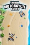 4 Wheel Motorcycle Racing Gold screenshot 1/5