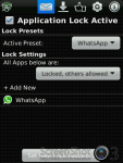 Lock for Whatsapp screenshot 1/3