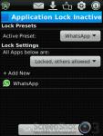 Lock for Whatsapp screenshot 2/3