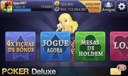 Texas HoldEm Poker Deluxe BR screenshot 1/6