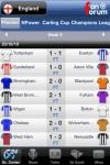 Livesports24 Football: World Leagues + 3D Goals screenshot 1/1