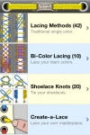 Ian's Laces - How to tie & lace shoes screenshot 1/1