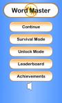 Word Master Unlimited screenshot 4/4