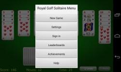 Royal Golf Solitaire screenshot 2/3