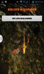 Koi Fish Pond Live Wallpaper Best screenshot 1/4