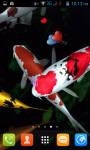 Koi Fish Pond Live Wallpaper Best screenshot 2/4