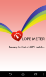 Love Meter Percentage Compatibility screenshot 4/4