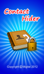 Contact Hider Android screenshot 1/6
