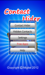 Contact Hider Android screenshot 2/6