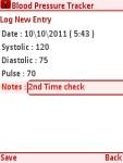 Blood Pressure Tracker Free screenshot 3/5