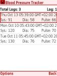Blood Pressure Tracker Free screenshot 5/5