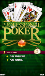 Professional poker Lite screenshot 1/4