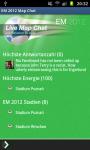 Euro 2012 Live Ticker and Fan Map Chat screenshot 2/6