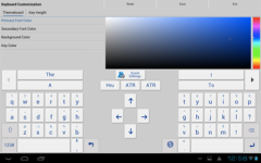 Adaptxt Keyboard - Tablet screenshot 2/6
