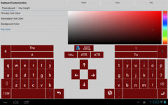 Adaptxt Keyboard - Tablet screenshot 5/6