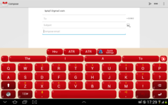 Adaptxt Keyboard - Tablet screenshot 3/6