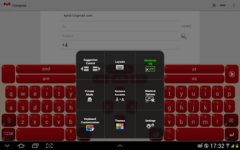 Adaptxt Keyboard - Tablet screenshot 4/6