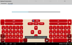 Adaptxt Keyboard - Tablet screenshot 6/6