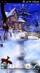 Christmas Snowfall Live Wallpaper screenshot 2/3