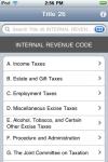 Internal Revenue Code (Title 26 United States Code) screenshot 1/1