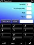 WW Calculator for Blackberry screenshot 1/1
