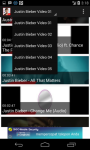 Justin Bieber Video Clip screenshot 2/6