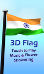 Indian Flag with Music LWP screenshot 1/4