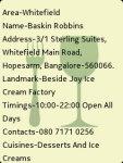Bangalore Restaurants : FoodGuide screenshot 4/4