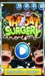 Throat Surgery game screenshot 1/6