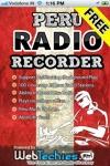 Peru Radio Recorder Free screenshot 1/1