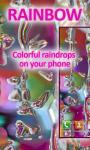 Rainbow Drops Live Wallpaper Free screenshot 1/4