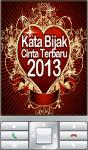 Kata Bijak Cinta Terbaru 2013 screenshot 1/2