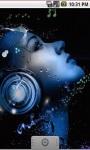 Music Abstract Headphone Live Wallpaper screenshot 2/5
